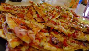 Pizza párty rodín